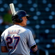 "Nimmo Left Game With ""Pinched"" Right Knee"