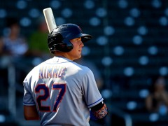 Brandon Nimmo Taking His Promotion In Stride