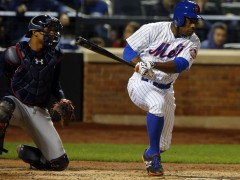 Granderson Breaks Out With 4 RBI