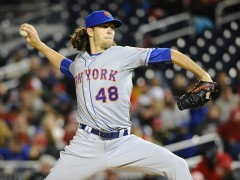 DeGrom Excited To Pitch In Mets' Home Opener