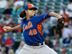 Mets Top Arms Set Up For Subway Series