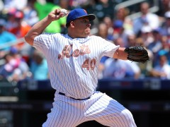 Colon Wins Seventh, Plays Stopper For Mets