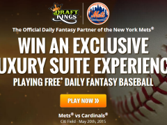 Win a Mets VIP Experience Playing One Day Fantasy Baseball!