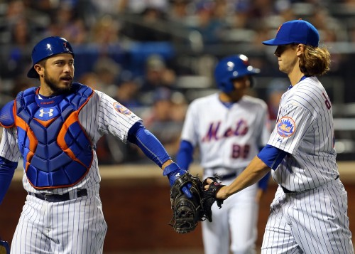jacob deGrom travis d'Arnaud