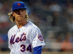 Syndergaard Struggles Against Giants, Says Bad Luck Was a Factor