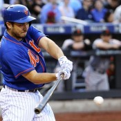 Back in the Saddle Again: Travis d'Arnaud Batting Fifth Tonight