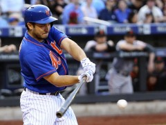 D'Arnaud Heads To Disabled List, Monell Called Up