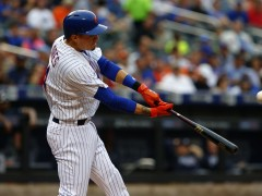 Wilmer Flores Belts His 10th Home Run