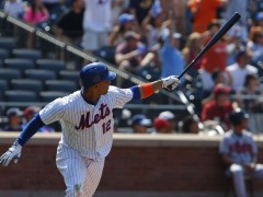 Lagares Rewards Collins With Impressive Day At the Plate