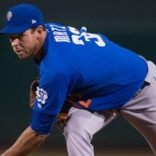 Matz Fires Seven Scoreless Innings