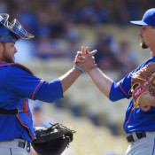 Logan Verrett Earns First Save As A Met