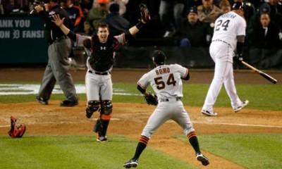 San Francisco Giants win the 2012 World Series