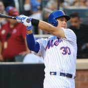 Conforto Electrifies Packed Citi Field With Four-Hit Performance