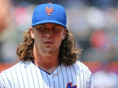 Fiery DeGrom Is Charged Up And Sets His Sights On Cubs