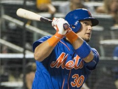 Collins Says Impressive Rookie Michael Conforto Won't See Any Starts Against LHP