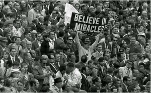 believe in miracles karl sign man