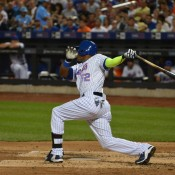 Yoenis Cespedes Crushes His First Homer As A Met