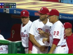 Benches Clear After Robles Quick-Pitches Ruf