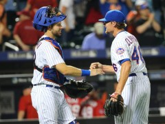 Mets Top Nationals 5-2 To Complete Sweep And Grab First Place