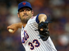 Sporting News Names Matt Harvey NL Comeback Player of the Year