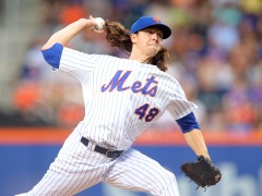 Jacob deGrom's Five Statistical Advances from 2014 to 2015