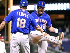 Daniel Murphy Does It With Bat and Glove In Mets Win
