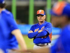 Collins Is Still Fuming, Says Harvey and deGrom Will Start Against Reds