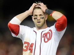 Bryce Harper Strikes Out Three Times, Then Calls Out Nats Fans