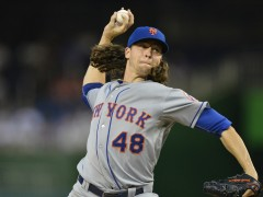 Watch: What Does DeGrom Do Next After Outdueling Kershaw?