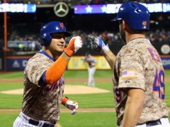 Conforto Homers As Mets Defeat Braves 4-0