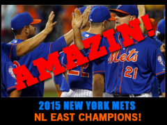 WE DID IT!!! METS ARE THE NL EAST CHAMPIONS!!!