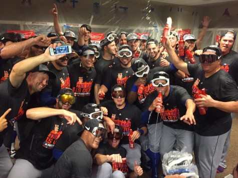 NL East Champions group photo