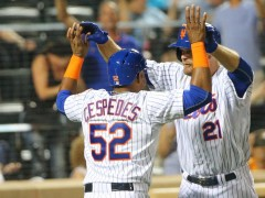Are Duda and Cespedes the NL's Best 1-2 Punch?
