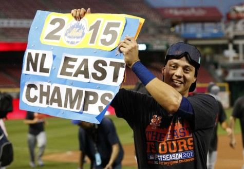 NL East Champions Flores Wilmer