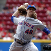 DeGrom Sharp In Win Over Reds