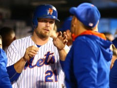 Lucas Duda Out, Michael Cuddyer In For Game 1