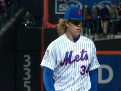 Syndergaard Brings the Heat, Sets Stage For Decisive Mets Victory