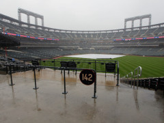Tonight's Mets vs Nationals Game Postponed, Doubleheader Saturday