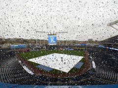 Rain Could Be Factor, But Game 1 Will Go On