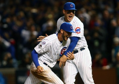 Cubs advance to NLCS Rizzo