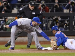 Murphy Jokingly Goads Granderson To Steal Third… And It Worked!