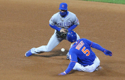 david wright steals second nlcs