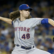 DeGrom Strikes Out 13 In First Playoff Win!