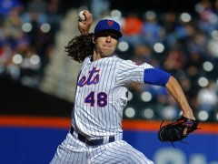 DeGrom Sharp in Season Finale, Ready To Face The Dodgers