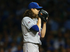DeGrom Pitches Mets To Within One Win From World Series