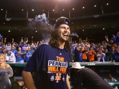 Jacob deGrom Talks Royals, Excitement, Confidence