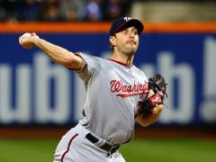 Max Scherzer Strikes Out 17, No-Hits Mets 2-0