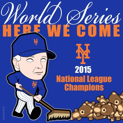 mets sweep nl champs