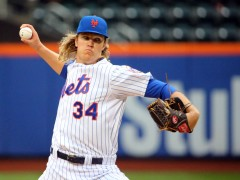 Syndergaard Wraps Up Strong Rookie Campaign; Talks Tough About Dodgers