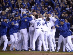 Royals Defeat Mets 5-4 In Epic Game 1 Thriller